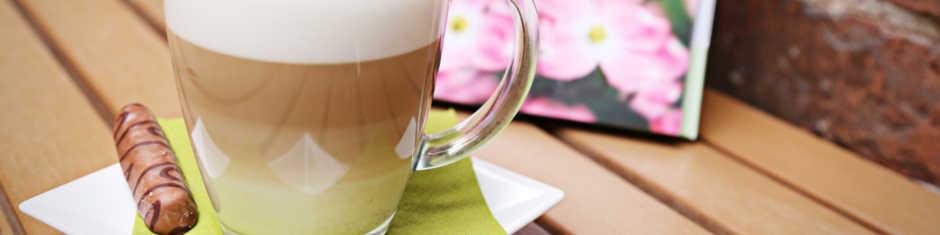 Und zum Abschluss ein entspannter Tee- oder Kaffeegenuss